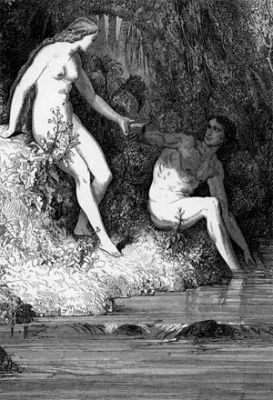 paradise lost adam and eve relationship