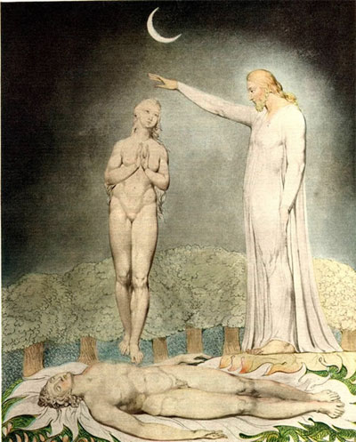 William Blake, The Creation of Eve