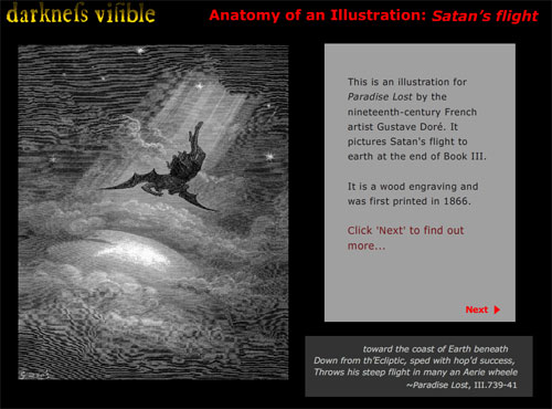 Anatomy of an Illustration: Satan's Flight